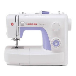 Singer Sewing Co - Singer 3232 Simple Sewing Machine - Singer 3232 Simple Automatic Needle Threader 32 Built-In Stitches 1 Fully Automatic 1-Step Buttonhole.