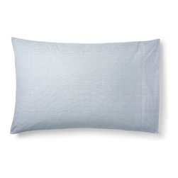 Ralph Lauren - Standard Westlake Pillowcase - CHAMBRAY BL/CREAM (STANDARD) - Ralph LaurenStandard Westlake PillowcaseDetailsSoft cotton with subtle striped pattern inspired by classically tailored men's shirting.Machine wash.Imported.Designer About Ralph Lauren:American designer Ralph Lauren debuted his brand in 1968 with ties and menswear and over the years his vision expanded to encompass women's ready-to-wear shoes accessories and children's clothes just to name a few. Classic and timeless are the watch words of Ralph Lauren whether it be designs from Black Label Blue Label Ralph Lauren Collection or RLX by Ralph Lauren.
