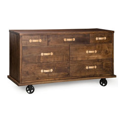 Dutch 7 Drawer Dresser