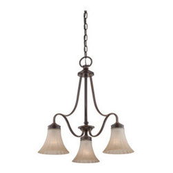 Quoizel - Quoizel ALZ5103 Aliza 3 Light 1 Tier Chandelier - Specifications: