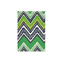 Fabric   Tangier Frame Print in Sea Grass   Schumacher -