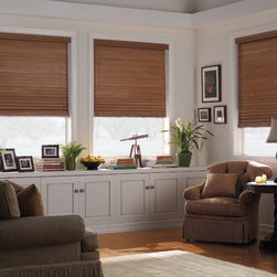"Levolor 2"" Premium Wood Blinds in Estate Autumn - Levolor 2"" Premium Real Wood Blinds bring the warmth, beauty and elegance of nature into your home. You will be able to choose from an exciting range of styles, finishes and colors to ensure these Levolor wood blinds match your home decor exactly."