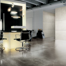 workshop modern dining room tile - rectified, modular, - A rectified, modular, through-body porcelain series designed with precision and attention to detail. Workshop offers cutting edge style and an unlimited range of potential applications.  This modern tile is perfect for many installations.