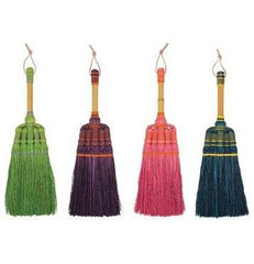 eclectic mops brooms and dustpans by The Contemporary Home