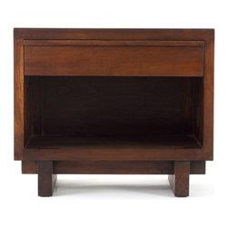 Teak Me Home - Bennett End Table - Solid Reclaimed Teak Wood - 100% Solid Reclaimed Teak