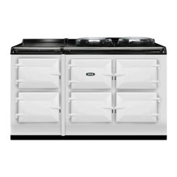 "AGA - ATC5WHT Total Control 59"" Electric Fuelled Cast Iron Cooker with 5 Radiant Heat - The new TC5 the latest model in the Total Control series brings you five large cast iron ovens two hotplates and a warming plate to deliver incredible capacity and flexibility TC5 have two ovens and a warming plate to the popular TC3 Imagine being ab..."