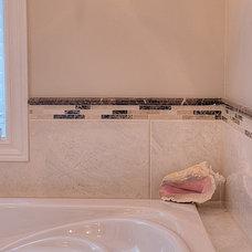 Traditional Tile by MGA Renovations