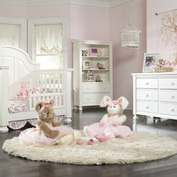 Sugar Crib converted into Toddler Bed - •Sugar is a solid panel headboard crib that converts to a Toddler bed and either a Full or a QUEEN bed!