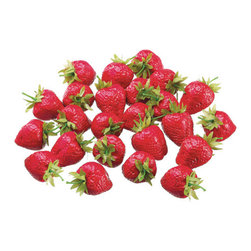 Silk Plants Direct - Silk Plants Direct Large Strawberry (Pack of 1) - Pack of 1. Silk Plants Direct specializes in manufacturing, design and supply of the most life-like, premium quality artificial plants, trees, flowers, arrangements, topiaries and containers for home, office and commercial use. Our Large Strawberry includes the following: