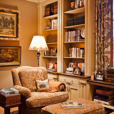 Traditional Family Room by Eric Ross Interiors, LLC