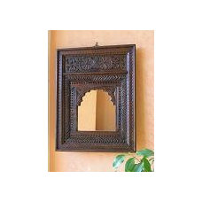 Indian mirrors wall hangings and plaques