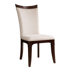"""Hooker Furniture - Hooker Furniture Palisade Upholstered Side Chair - Set of 2 - If you embrace modern style but still revere traditional design, and if you seek a contemporary flair but appreciate classic beauty, then the Palisade collection offers you the best of both worlds. Hardwood solids and walnut veneers. Dimensions: 20.25""""W x 26.5""""D x 42.75""""H."""