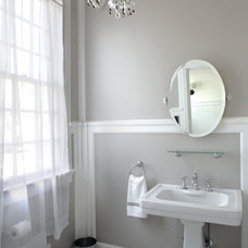 Traditional Powder Room by Premiere Contractors