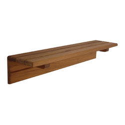 Teakworks4u - Platation Teak Shelf - This shelf will be a fantastic addition to your home, bathroom, or shower! Available in two sizes. Custom sizes are available by contacting Teakworks4u