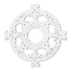 Livex - Livex Ceiling Medallions Ceiling Medallion 8218-03 - Finish: White