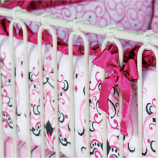 Contemporary Baby Bedding by dimplesanddandelions.com