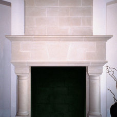 Traditional Indoor Fireplaces by Old World Stoneworks