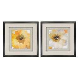 Paragon - Ginger Gold PK/2 - Framed Art - Each product is custom made upon order so there might be small variations from the picture displayed. No two pieces are exactly alike.