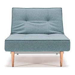 True Blue Chair - Slide this cool chair up to the True Blue Sofa to create a two-person bed. Or keep it all to yourself and have a nice, long nap.