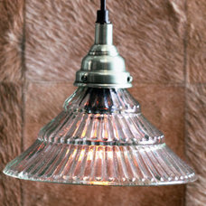 Forma - Bistro Clear Glass Pendant Lamps