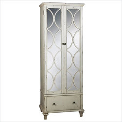 Pulaski Accents Timeless Classics Wine Cabinet in Bryce - Features: