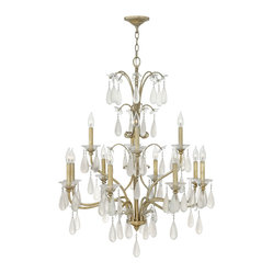 Fredrick Ramond Francesca 12-Light 2 Tier Chandelier