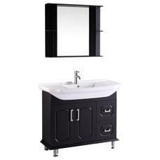 Modern Bathroom Vanities And Sink Consoles by Knobs and Beyond