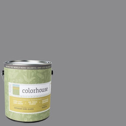 Inspired Semi-Gloss Interior Paint, Wool .04, Gallon - Colorhouse paints are zero VOC, low-odor, Green Wise Gold certified and have superior coverage and durability. Our artist-crafted colors are designed to be easy backdrops for living. Colorhouse paints are 100% acrylic with no VOCs (volatile organic compounds), no toxic fumes/HAPs-free, no reproductive toxins, and no chemical solvents.