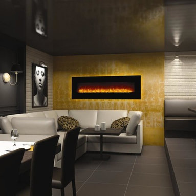Fireplace Xtrordinair by Travis Industries - FPX 51EF Linear Electric Fireplace - Electric Inserts provide all the warmth, ambiance, and dancing flames of a wood or gas insert without the by-products, structural changes, and cost.   They're the practical alternative to wood, gas or pellet!