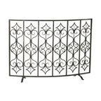 Cyan Design - Cyan Design 04007 Casablanca Fire Screen - Cyan Design 04007 Casablanca Fire Screen