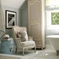 Traditional Bathroom by Susanne Kelley Design