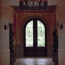 Mediterranean Entry by Reminiscent Homes, LLC.