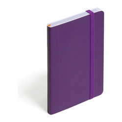 Soft Cover Notebook, Purple, Small