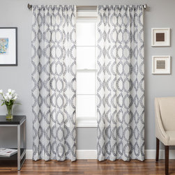 Conner Boucle Sheer Curtain Panel -