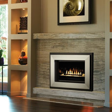 Modern Indoor Fireplaces by Travis Industries, Inc.