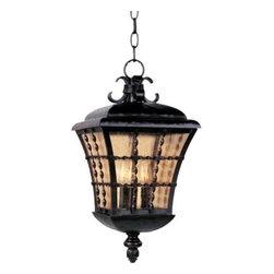 Maxim Lighting - Maxim Lighting 30498ASOI Orleans 3-Light Outdoor Hanging Lantern - Features