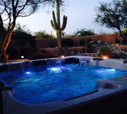 Atera COLD & HOT Spa backyards! -