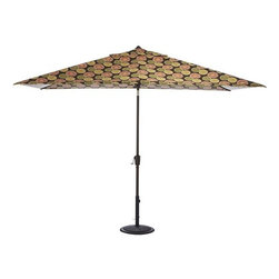 Home Decorators Collection - 6.5' x 10' Rectangular Market Umbrella Canopy - Featuring a uniquely designed rectangle shape. Our Rectangular Market Umbrella Canopies come in both polyester and acrylic fabrics and are quality crafted for long-lasting beauty. Available in 100% weather-treated polyester or 100% solution-dyed acrylic. Choose from a variety of colors and designs. Fits the 6.5' x 10' Auto-Tilt Market Umbrella Frame.