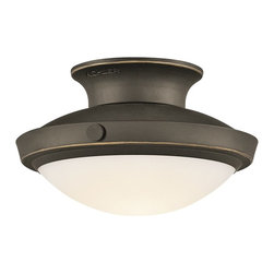 Kichler Lighting - Kichler Lighting 42134OZ Fremont Transitional Semi Flush Mount Ceiling Light - Kichler Lighting 42134OZ Fremont Transitional Semi Flush Mount Ceiling Light