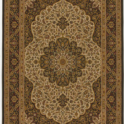"""Orian - Orian American Heirloom Osteen (Mandalay) 5'3"""" x 7'6"""" Rug - American Heirloom Collection, Orian Rugs' flagship collection is inspired by classic, hand-woven oriental rugs that combine understated elegance with classic style. The 1.5 million point design construction is densely woven with Orian's finest-denier yarns creating unparalleled visual dimension and pin point design clarity."""