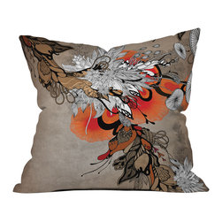 Iveta Abolina Sonnet Outdoor Throw Pillow - Do you hear that noise? it's your outdoor area begging for a facelift and what better way to turn up the chic than with our outdoor throw pillow collection? Made from water and mildew proof woven polyester, our indoor/outdoor throw pillow is the perfect way to add some vibrance and character to your boring outdoor furniture while giving the rain a run for its money.