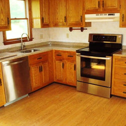 Kitchen Counter Tops - Project from Zel Build