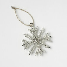 Contemporary Christmas Ornaments by West Elm