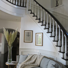 Traditional Staircase by Michelle Workman Interiors