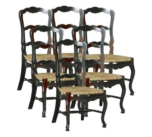 EuroLux Home - 6 New French Country Dining Chairs - Product Details