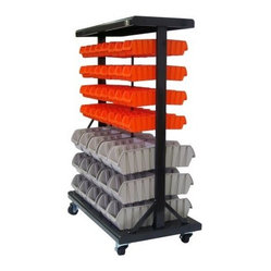 TRINITY Dual-Sided EcoStorage™ Bin Rack
