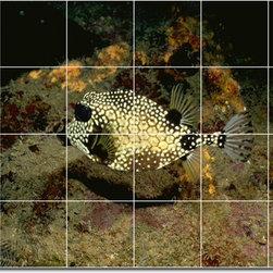 Picture-Tiles, LLC - Sea Life Photo Ceramic Tile Mural 28 - * MURAL SIZE: 24x36 inch tile mural using (24) 6x6 ceramic tiles-satin finish.