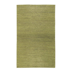 Napa Hills Rug - The hills of Napa Valley are a sight you won't forget, and this green rug and flowing glasses of wine will transport you right to the epicenter of wine country.