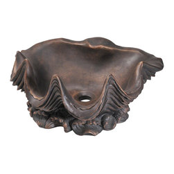 MR Direct - MR Direct 959 Bronze Vessel Faucet - There are sinks, and then there are statement sinks. This is a statement sink. Its oil-rubbed, bronze shell structure is a piece of art sculptured for your bathroom. The aged patina brings a luster and richness that's lacking in white porcelain.