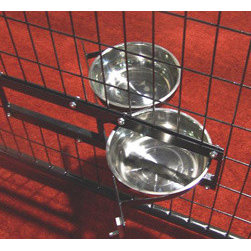 Jewett-Cameron Companies - Probreeder Turn-Style Bowl Assembly - Solid Steel Construction